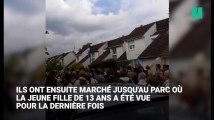 Les images poignantes de la marche blanche en hommage à Angélique