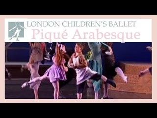 Pique Arabesque demo | LCB: Ballet Shoes 2001