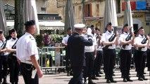 Prise d'armes à Avignon