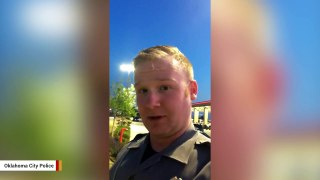 Oklahoma City Officer Rescues Chicken Trying To Cr
