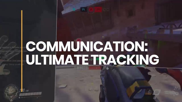 Communication: Ultimate Tracking - Proudly supported by McDonald's