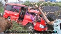 '15명 사상' 전남 버스 추락…사고 원인 분석