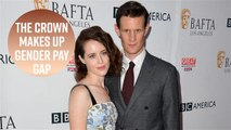 Claire Foy gets back pay for The Crown gender pay gap