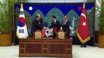 Türkiye-Güney Kore arasında iş birliği anlaşmaları - SEUL