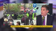 """""""On peut se demander s'il n'y a pas eu une sous-évaluation de ce qu'étaient les risques encourus par la manifestation"""", demande Olivier Faure, Premier secrétaire du PS"""