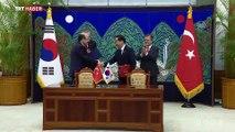 Türkiye ile Güney Kore arasında 4 anlaşma imzalandı
