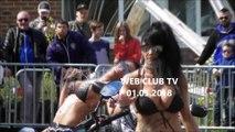 Fresnes sur Escaut 59  5ème Retro Auto Show  avec Wash Sexy lavent les motos Moto