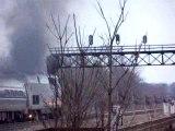 Amtrak 61 in trouble at Joliet