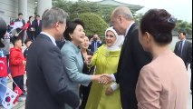 Cumhurbaşkanı Erdoğan'a Koreli Çocuklardan Sevgi Gösterisi