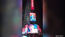 Baekho được xử trắng án quấy rối tình dục, fan chi tiền tỷ mua quảng cáo ở New York chúc mừng Idol