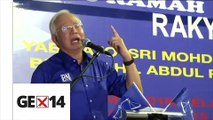 Opposition using Dr M to split Malay votes, says Najib