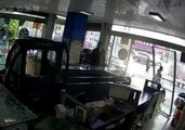 Dog Drives Truck and Crashes Into Store in China