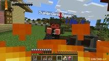 PopularMMOs Minecraft TECH GUNS! (MISSILE LAUNCHER, ENERGY BLASTER, & SCAR RIFLE!) Mod Showcase