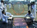 Strange sporting and amusing antics by Indians