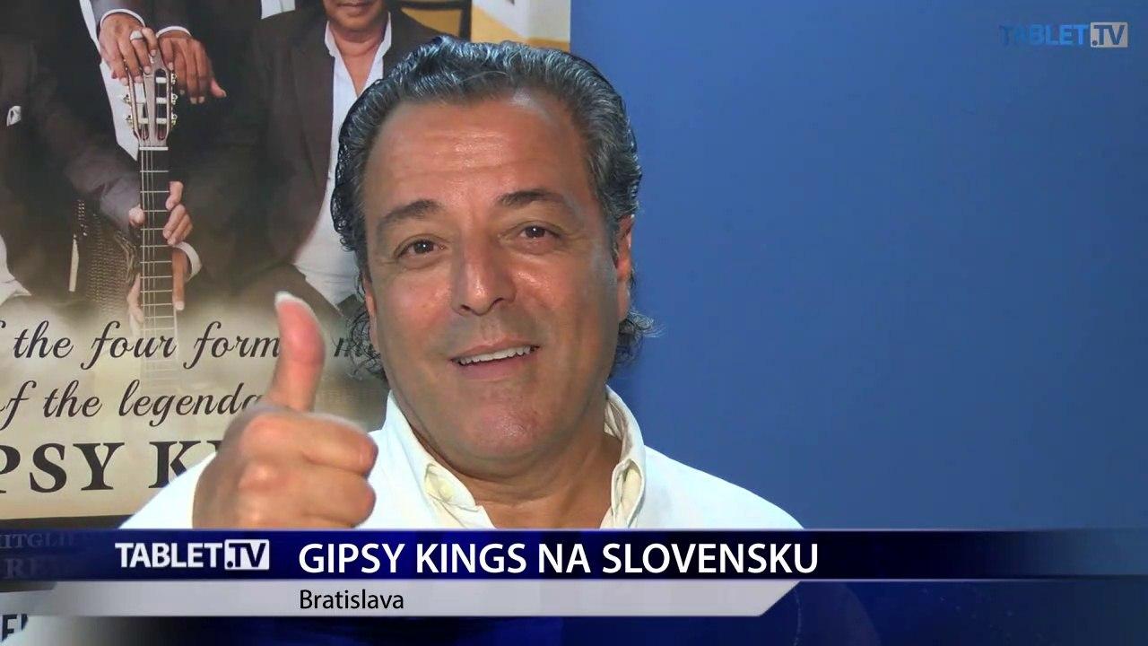 GIPSY KINGS exkluzívne pre TABLET.TV: Slováci milujú cigánsku hudbu