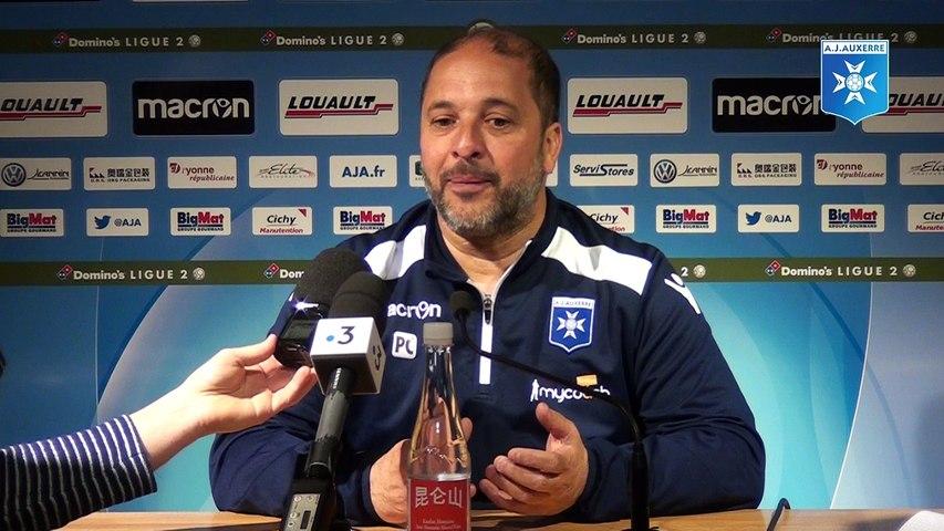 Conférence de presse de Pablo Correa