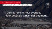 """Pollution dans la vallée de l'Arve : """"l'État est bien ingrat de laisser les gens mourir"""""""
