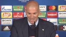 Zidane, en rueda de prensa tras ganar al Bayern