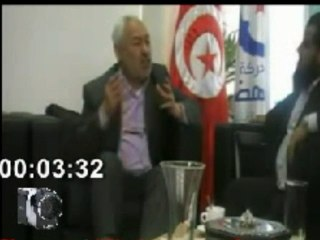 راشد الغنوشي: الجيش موش مضمون و الشرطة موش مضمونة