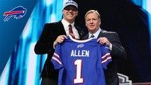 Bills select Josh Allen No. 7 in the 2018 NFL Draft