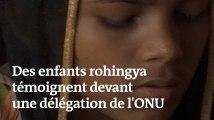 « J'étais en train de m'enfuir quand ils m'ont tiré dessus » : des enfants rohingya témoignent