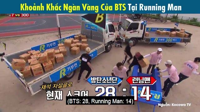 Đoạn cut BTS tham gia Running Man bỗng dưng hot trở lại khi được kênh quốc tế Hàn Quốc đăng tải