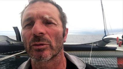 Explications d'Yves Le Blevec sur l'avarie survenue sur Actual - Grand Large Emotion