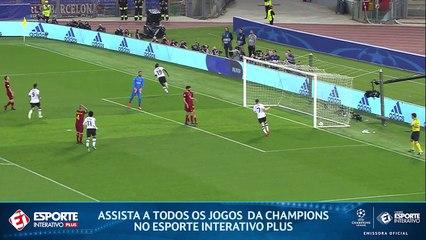 GOL DO LIVERPOOL! O time inglês aproveita erro de Nainggolan, e Mané abre o placar após assistência de Firmino!