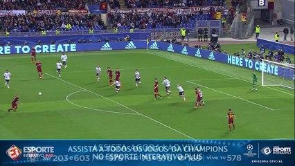 GOLAÇO DA ROMA! Nainggolan faz o terceiro do time italiano contra o Liverpool!