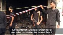 Libye/commission électorale: attentat suicide meurtrier de l'EI