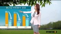 [날씨] 출근길 바람 불며 쌀쌀…전국 미세먼지 '보통'