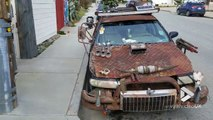 Fans de Mad Max, ce conducteur a transformé sa voiture comme dans le film !