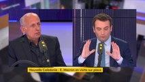 """Référendum en Nouvelle-Calédonie : """"Je souhaite que la Nouvelle-Calédonie fasse le choix clair, réaffirmé, de la France"""", explique Florian Philippot"""