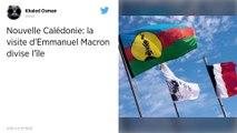 Macron en visite en Nouvelle-Calédonie, 30 ans après les sanglants événements d'Ouvéa.