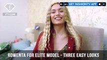 Rowenta for Elite Model Look Fashion Stylist Three Easy Looks | FashionTV | FTV