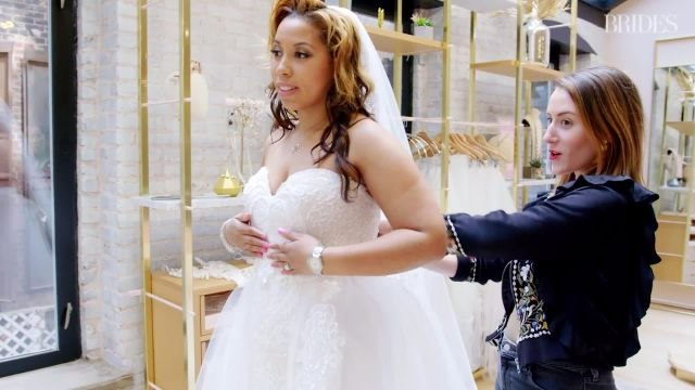 Plus Size Brides Talk About Shopping for Gowns