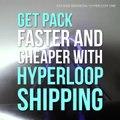 Get a package delivered via Hyperloop