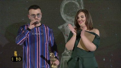 Best VIDEO 2017 Ardian Bujupi ft Capital T ANDIAMO - ZHURMA VIDEO MUSIC AWARDS 13 (2017)
