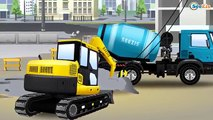 Tractopelle, camion benne, grue, train: Truck City compilation des camions de construction