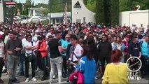 Foot : Les supporters marseillais très motivés avant le match (Vidéo)