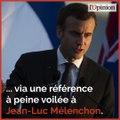 Violences du 1er mai: passe d'armes entre Macron et Mélenchon par médias interposés