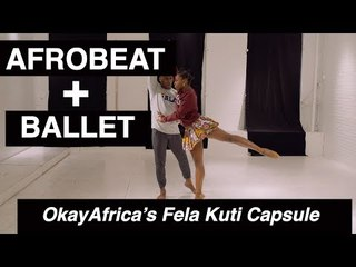 Afrobeat + Ballet: OkayAfrica's Fela Kuti Capsule F/W 2017
