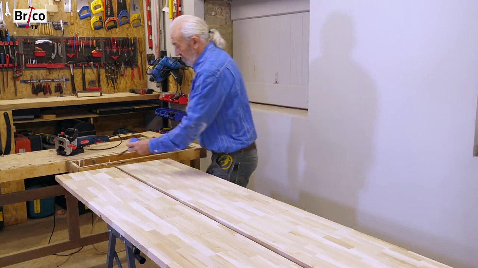 Comment Fabriquer Des Plinthes En Bois fabriquer un meuble en chêne avec des assemblages à lamelles - tuto brico  avec robert de menuiserie
