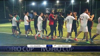 F.C CELESTE vs FC ZAKAMO 1/4 finale