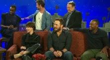 Conan S08xxE68 Chris Pratt, Scarlett Johansson, Chris Hemsworth, Anthony Mackie - Part 02