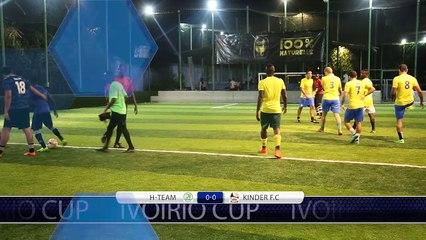 H-TEAM vs KINDER FC 1/4 finale