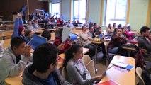 SchooLab : lycéens et collégiens presentent leur projet scientifique à l'école des Mines de St Etienne