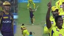 IPL 2018, CSK vs KKR : Chris Lynn Departs on 12 runs, Lungi Ngidi strikes | वनइंडिया हिंदी