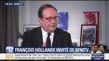 """""""Je me suis sacrifié et je ne le regrette pas"""" confirme François Hollande sur le retrait de sa candidature à la Présidentielle de 2017"""