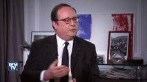 """""""Il y avait une attitude qui était insupportable de la part du président Trump"""" François Hollande réagit au comportement de Donald Trump pendant la visite d'Emmanuel Macron"""